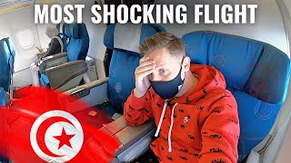 NATIONAL EMBARRASSMENT: TUNISAIR A320 - the MOST SHOCKING FLIGHT