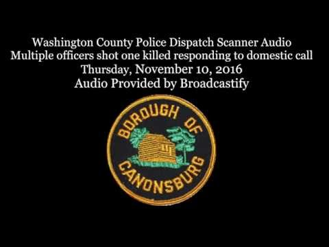 Scanner Audio Two Pennsylvania Police Officers Ambushed and Shot