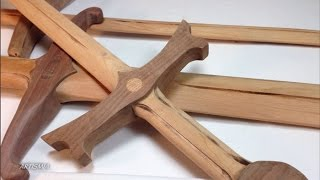 Of Course It Is Made Of Wood! How To Make A Wooden Sword.