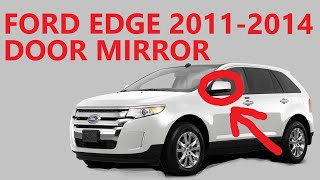 For Ford Edge 2011-2014 Replace FO1320455 Driver Side Power View Mirror
