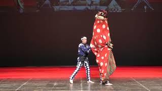 2018.01.20 羽島市平方・八幡神社祭礼勢獅子舞台準備