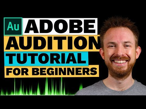 Adobe Audition CC Tutorial For Beginners - Getting Started