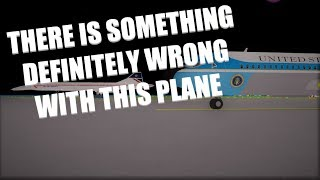 There Is Something Definitely Wrong With This Plane! | SFS Flight Simulator | Roblox