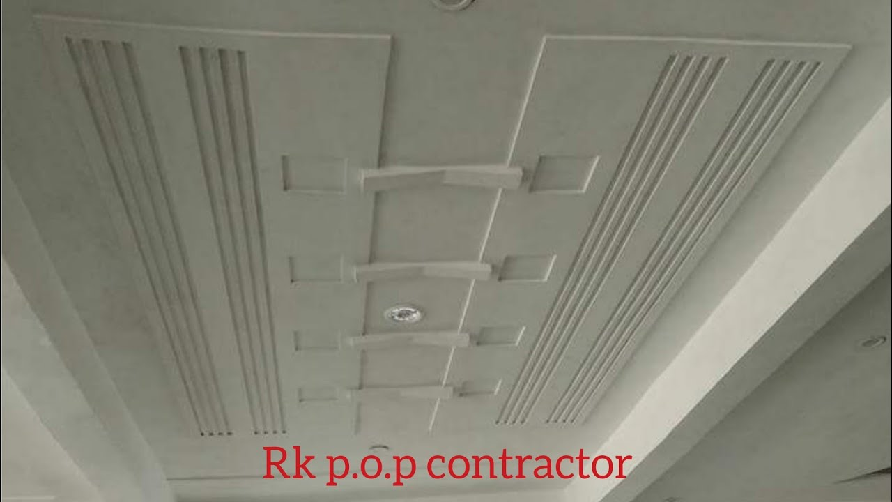 P O P Plus Minus Design And False Ceiling Design Photos Rk P O P Contractor Youtube