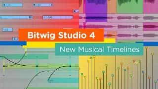 Bitwig - Bitwig Studio v4 베타