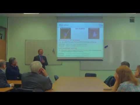 The lecture of Professor Thomas Seeger, University of Siegen (Germany)