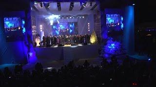 В Оргееве в канун Нового года состоялся концерт и праздничный салют