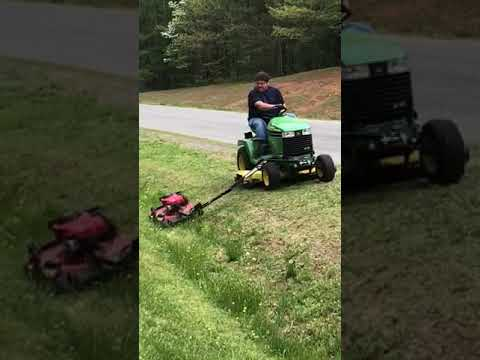 Homemade Slope & Ditch Mower
