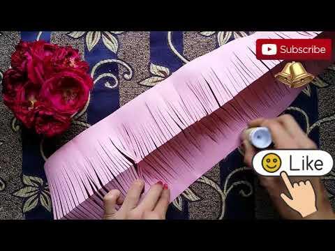 1 PRETTY FLOWER IDEAS |  Easy Paper Hacks |  Golden Hacks