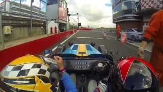 caterham seven 620r brands hatch gp circuit hot laps