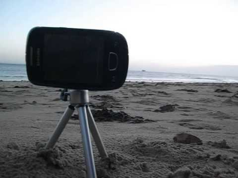 Using a Samsung Galaxy Mini GT-S5570 with a Camera Tripod