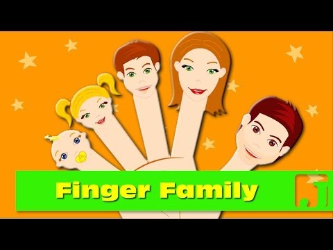 Finger Family | Nursery Rhymes | Songs for children