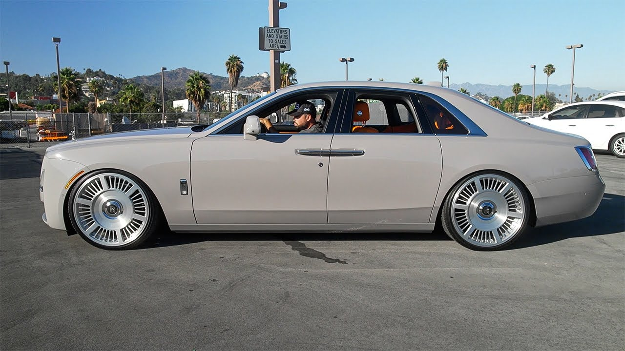 New Rolls Royce Ghost MASTERPIECE RDB Wheels, Moses is all alone..