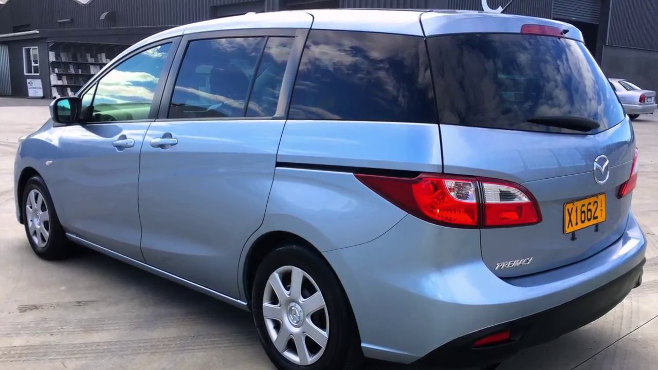 2010 mazda premacy 7 seater youtube. Black Bedroom Furniture Sets. Home Design Ideas