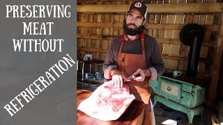 How to Make A Prosciutto & Age it in Your Bedroom With Hand Hewn Farm