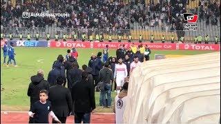 جماهير الزمالك تسب لاعبيها عقب التعادل أمام  بترو أتليتكو بـ«برج العرب»