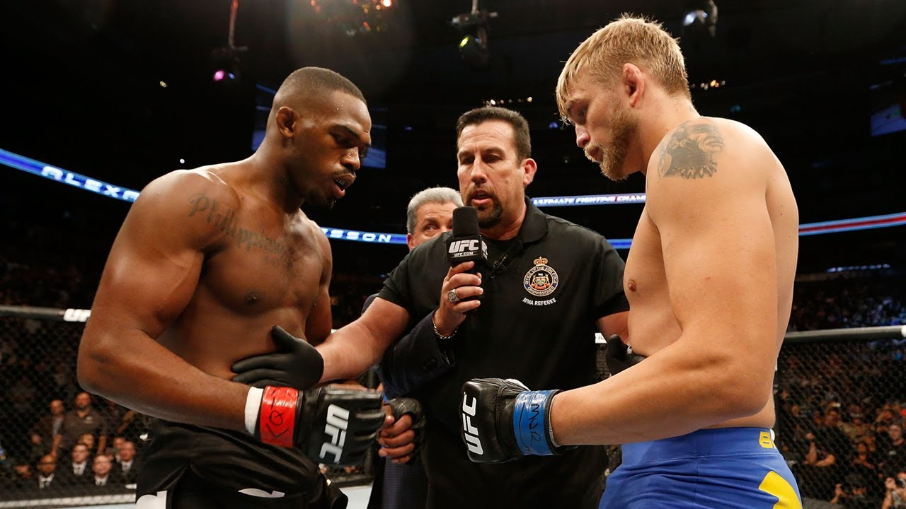 Free Fight: Jon Jones vs Alexander Gustafsson 1 | UFC 165,  2013
