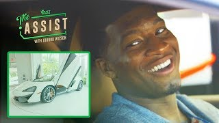 Jameis Winston Test Drives Exotic Luxury Cars | The Assist