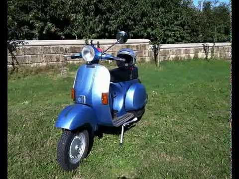 restauro piaggio vespa px 125 e 1982 youtube. Black Bedroom Furniture Sets. Home Design Ideas
