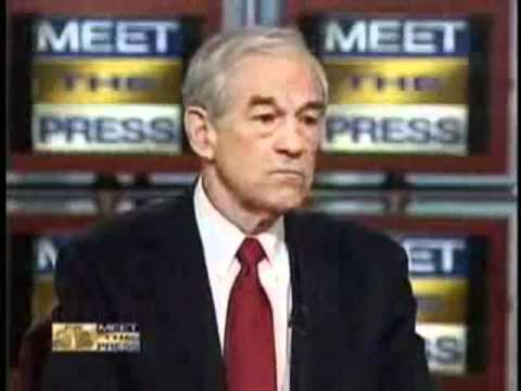 meet the press you tube ron paul