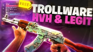 *BEST* FREE LEGIT CSGO Hack ''TrollWare'' + DLL (UNDETECTED CHEAT 2019)