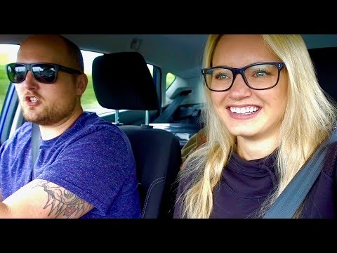 AMERICANS TRY DRIVING IN IRELAND!!