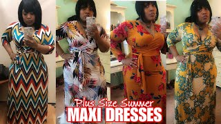 Plus Size Haul | Maxi Dress + Try on ft FOREVER 21 Plus | Summer Fashion