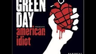 Guitar backing track - American idiot