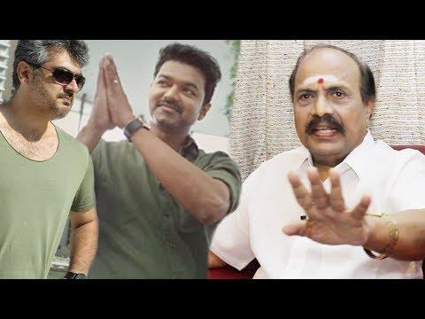 """Vijay is like MGR & Ajith is my """"chinna paiyan"""" - Director V C Guhanathan"""