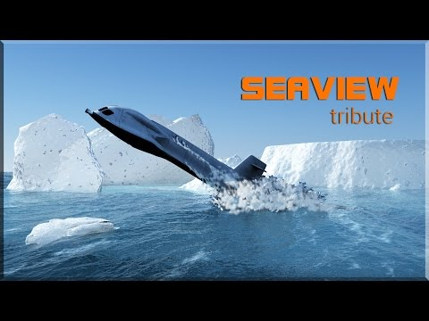 "A tribute to the ""Seaview"" submarine  (Tv series 60s : ""Voyage of the Bottom of the Sea"")"