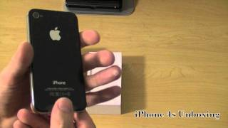 Apple iPhone 4s, 32 GB, Black from Sprint(Unboxing the iPhone 4s from sprint. Review coming soon., 2011-10-17T13:05:04.000Z)