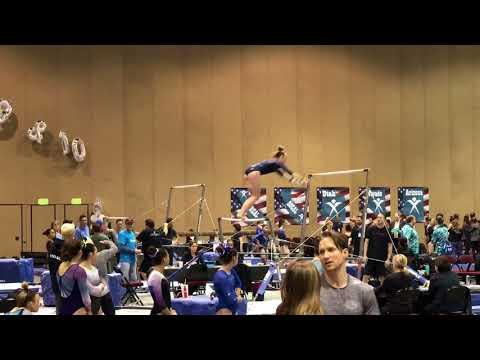 2018 - Level 8 - Region 1 Championships Apr15, 2018- Sierra K. (Gold Medal Gymnastics) - Bars