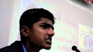 Sainik School Bijapur-South Zone-Debate, M Ashwin,Amaravathinagar
