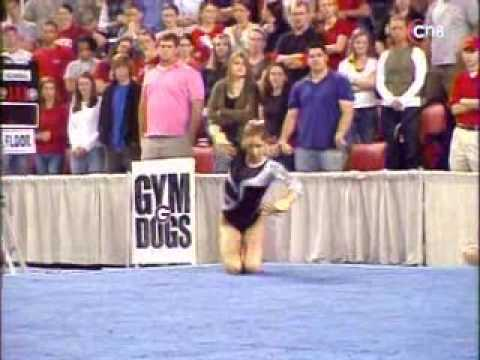 Courtney Kupets 2007 UGA vs. Stanford Floor