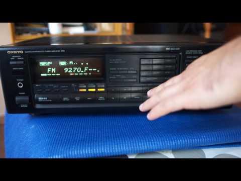 ONKYO TX-8510R Demo