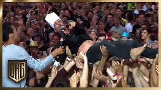 Rock am Ring: Crowdsurfing XXL &