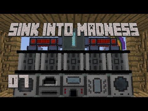 ►TECHNOLOGY! | Sink Into Madness #7 | Modded Minecraft◄