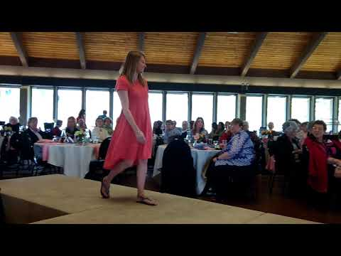 Models show off spring fashion at the 2018 Soroptimist Style Show in Gambier