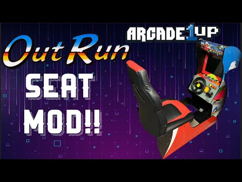 Arcade1Up: OutRun SEAT MOD!! from Dreamcast Kyle