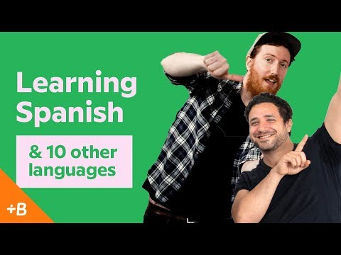 Learning Spanish & 10 other languages with Luca & Matthew | Babbel Voices