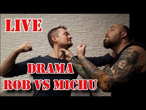 Drama Rob VS Michu Czyli dymy na żywo :)