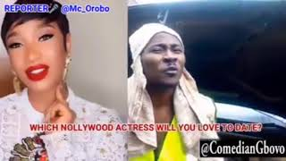 Which Nollywood Actress Would You Like To Date By Comedian Gbovo