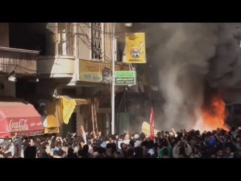 Violent clashes in Egypt's Alexandria