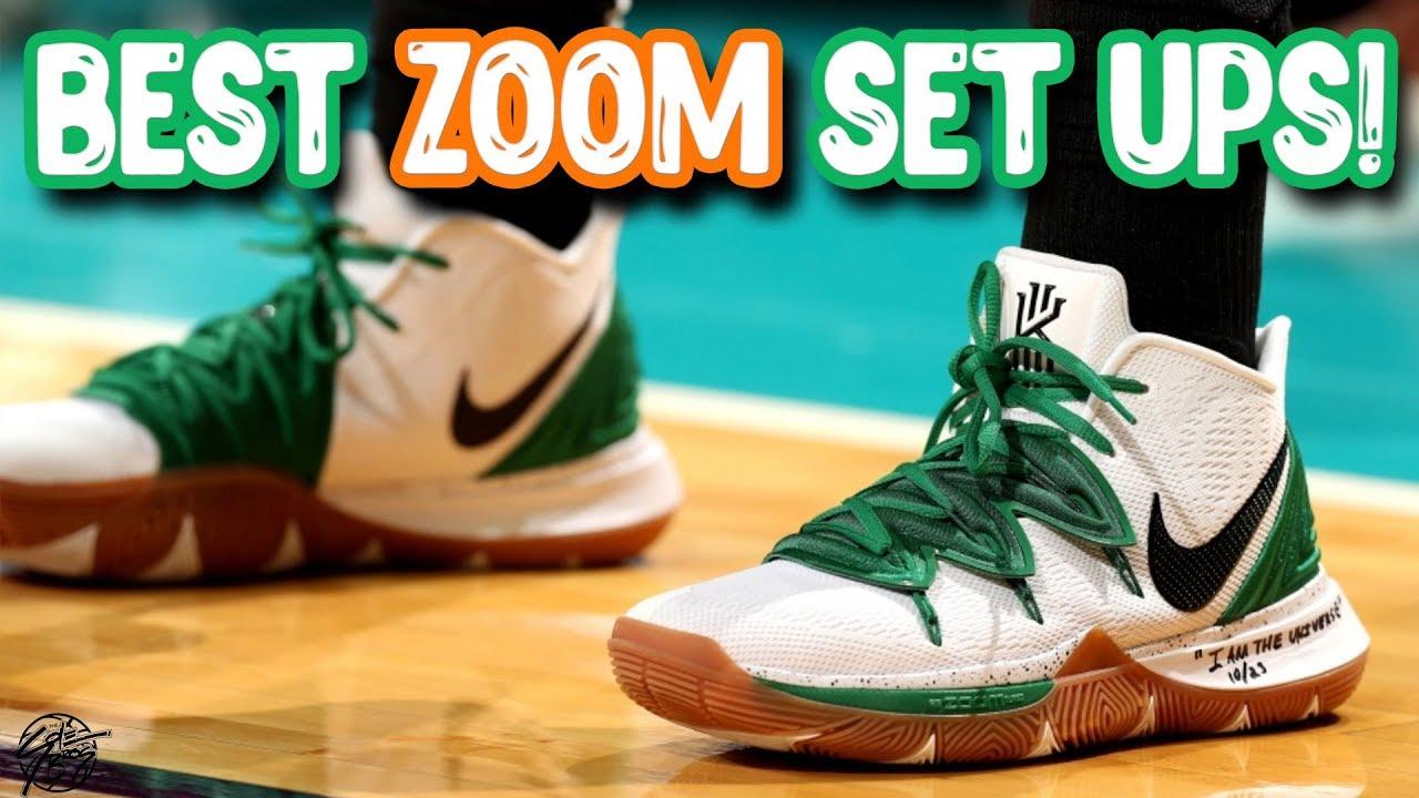 Cusco Humildad O cualquiera  Top 5 BEST Nike Basketball Shoes to Feel ZOOM AIR! - YouTube
