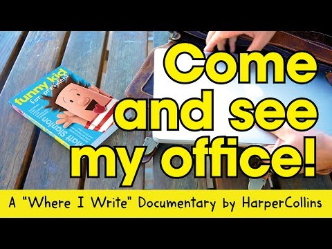 Where I Write - Funny Kid author/illustrator, Matt Stanton