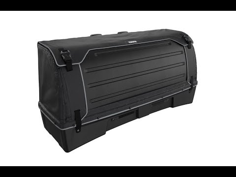 Towbar Cargo Carrier - Thule BackSpace XT + Thule BackSpace XT 4th Bike Arm