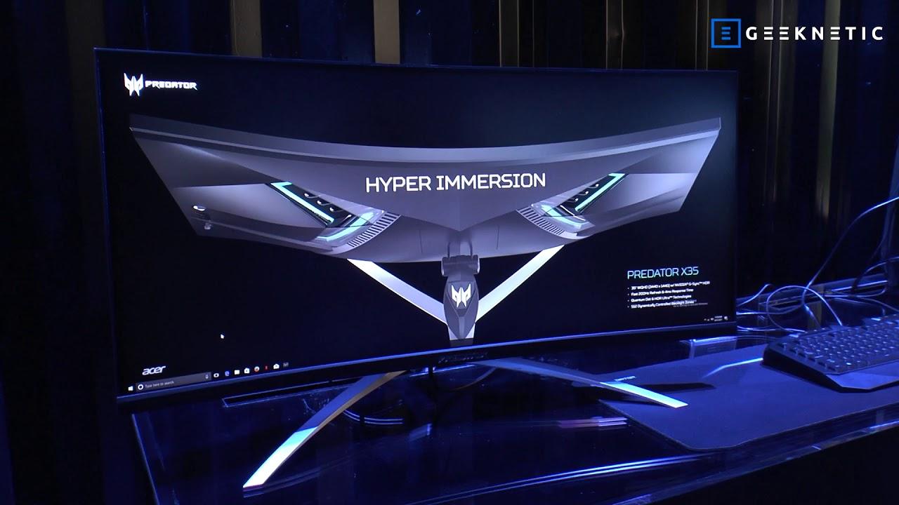 ACER - Monitor gaming Predator X35 - IFA 2017