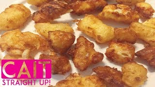 Homemade Cheese Curds Recipe | Cait Straight Up