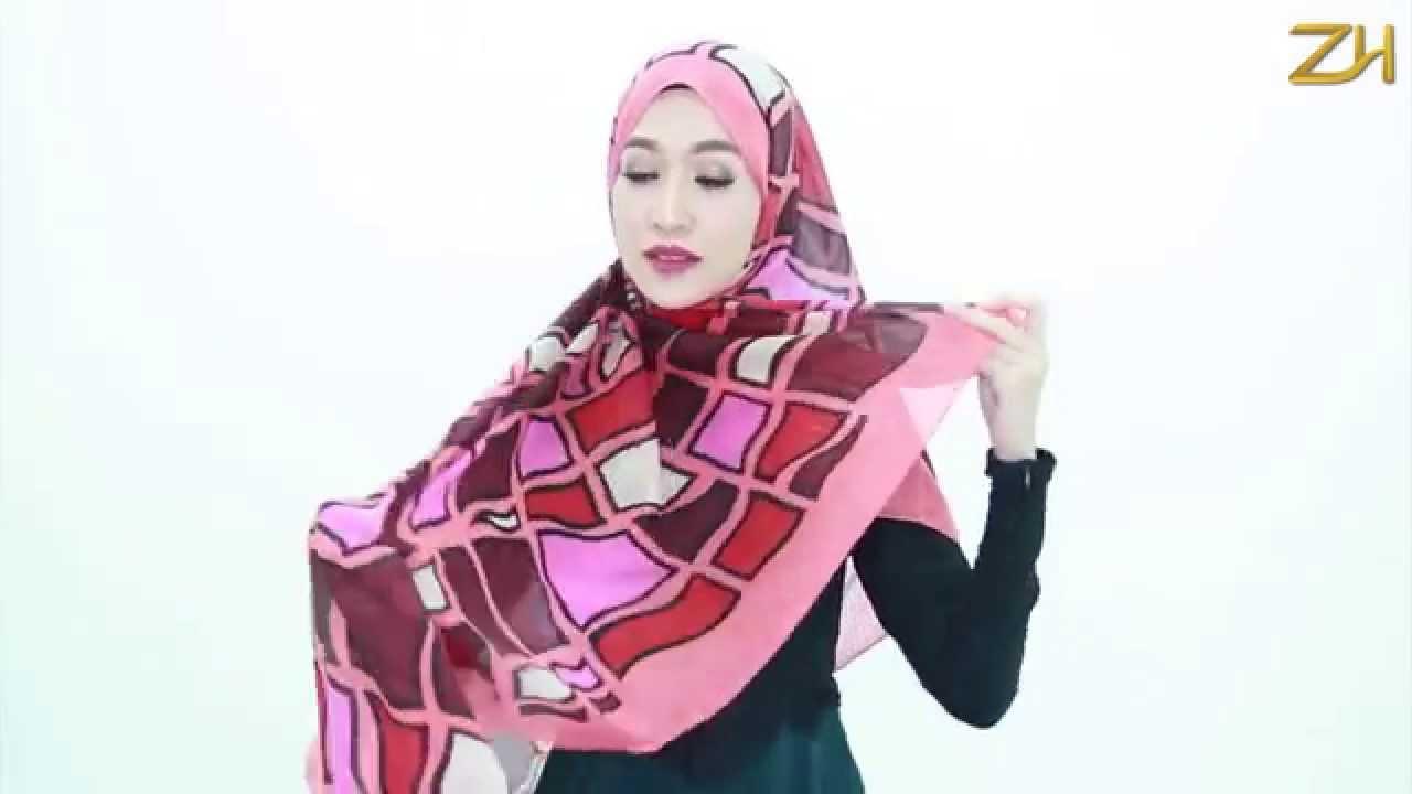 Compilasi Tutorial Hijab Paris Segi Empat Terbaru 2015Zaskia