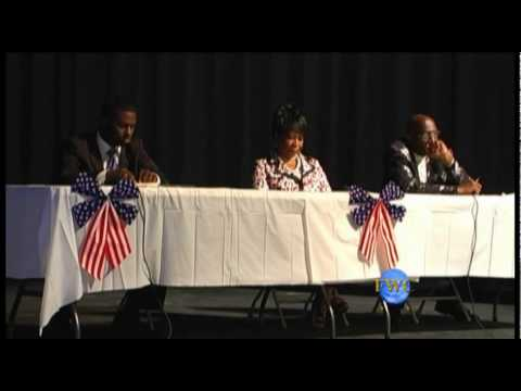 Cleo King vs Earl Cochran Sr, in a District 7 Runoff seen here at Forum 1 of 2 Series